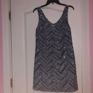 BB Dakota Sparkley Flowy Dress